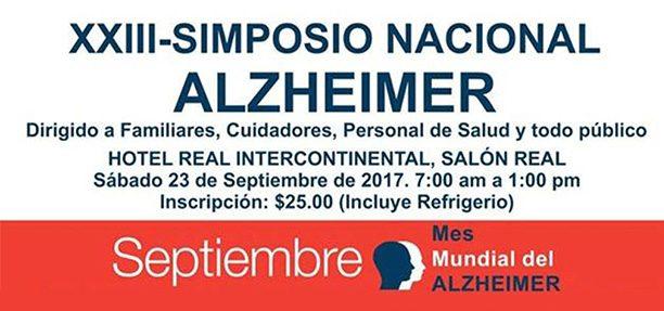 XXIII Simposio Nacional Alzheimer
